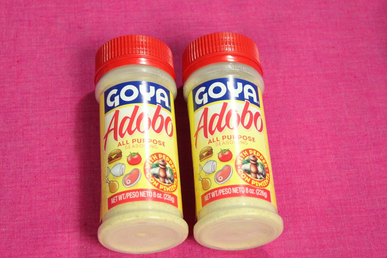Goya Adobo All Purpose Seasoning with Pepper Con Pimienta 8oz