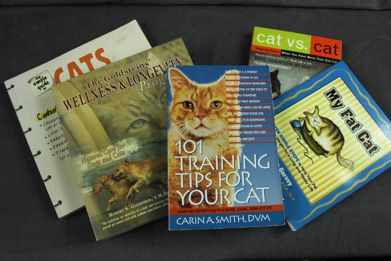 Cat Books Lot of 4 Pet Care Books