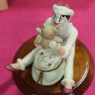 Vintage Hallmark Christmas Time Mime Figurine