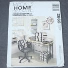 McCalls Pattern 2662 Home Decorating Office Essentials Uncut
