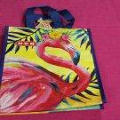 Reusable Insulated Lunch Bag - Flamingo