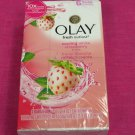 Olay Fresh Outlast Cooling White Strawberry and Mint Bar Soap Pack of 6