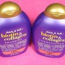 OGX Biotin & Collagen Shampoo & Conditioner-13oz. Each