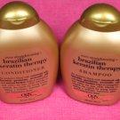 OGX Brazilian Keratin Therapy Shampoo & Conditioner-13oz. Each