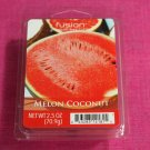 Fusion Wax Melt Cubes Melon Coconut