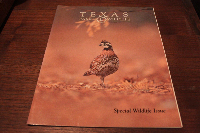 Texas Parks & Wildlife Magazine December 1991