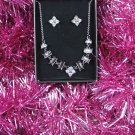 Avon Antiqued Elegance Necklace and Earrings Gift Set
