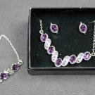 Avon Klara Bracelet Necklace and Earrings Gift Set