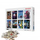MOMEMO Wooden Puzzle 1000 Pieces Cartoon Anime NARUTO High Definition Puzzles Assembling Toys for Ad