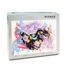 MOMEMO Lion and Girl Adult 1000 Pieces Wooden Jigsaw Puzzle Chinese Style Color Painting Puzzle 1000
