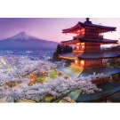 Educa Japan Mt. Fuji 2000 Pieces Jigsaw puzzle Silver
