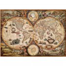 Assemble Ancient World Map 2000 Pieces of Reynolds Puzzle Toys for Adult Gift Toys Black