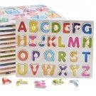 Fun Children Gift Letter Number Preschool Brain Teaser Enlightenment Vehicle Baby Educational Toy Ca