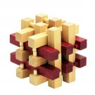 Puzzle Game Montessori Educational Magic Box Of 8 parts For Adult And Children Wooden Toys Of Kong M