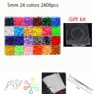 72 Colors 2.6mm Mini Hama Beads Boxed 5mm perler toys Bead Children 3D Puzzles DIY Handmaking Educat