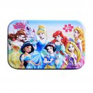 60pcs/set Cartoon Disney Frozen Toy Wooden Puzzle Iron Box Package Jigsaw Puzzle for Children Early
