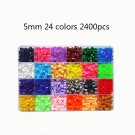 24/72 Colors 5mm Diy Toy Box Set Of Hama Beads Pegboard Accessories EVA Perler Fuse Beads For Childr