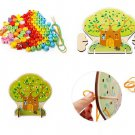 Puzzles for kid Multipurpose Study Box Children's educational toys Learning wooden toys gifts for ba