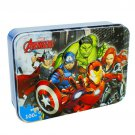 Disney Marvel Spider-Man Iron Box Jigsaw Puzzle 100 Piece MARVEL Avengers Wood Toy Puzzle 1