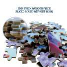Disney Frozen 2 Movie Pattern Puzzle 60 Piece Iron Box Wooden Puzzle Toy New Plane Puzzle 1