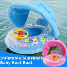 Baby Inflatable Swimming Ring Kids Summer Swimming Pool Swan Swim Float Water Fun Pool Toys Swim Rin