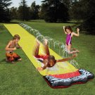 New 4.8M Outdoor Water Slide Children's Waterslide Summer Water Toy Outdoor Grass Water Spray Sheet