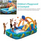 Summer Inflatable Outdoor Games Water Park  Basketball Play Swimming Pool With Water Slide Basketbal