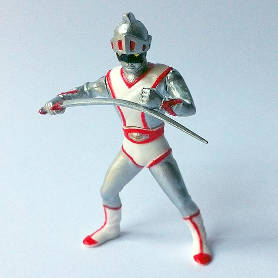 Silver Mask - Silver Mask Giant - Tokusatsu Hero Collection - Yujin