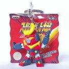 Super Robot Wars - Zambot 3 - Game Prize Keychain - Banpresto