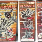 Zoids Art Statue Vol 2 - Color Set of 5 - Tomy