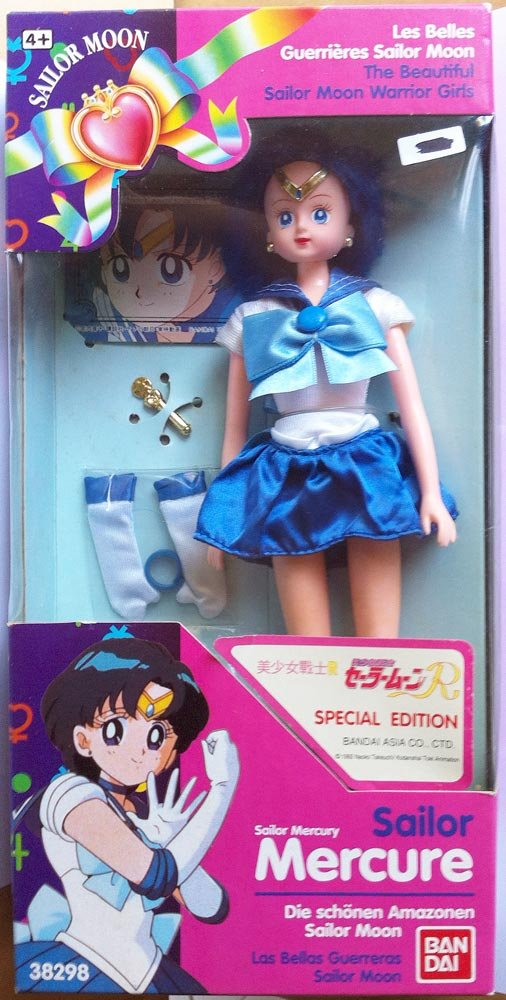 Sailor Moon R - Sailor Mercury - Bandai
