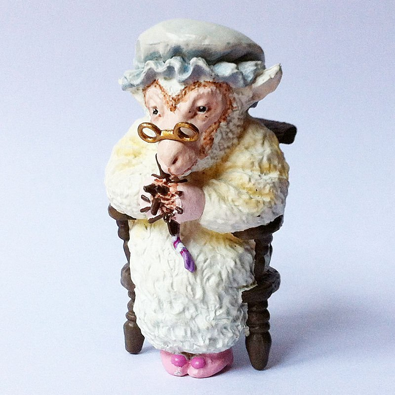 Alice's Adventures in Figureland - Alice's Tea Party - Sheep - Kaiyodo