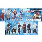 Japanese Dangerous Boys complete set of 10 figures + 1 secret by Gacya Kizoku