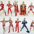HG High Grade Ultraman Ultraseven Lot of 11 figures by Bandai