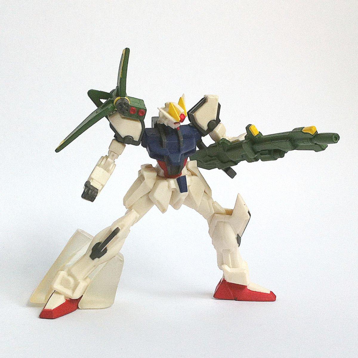 GAT-X105+AQM/E-X03 Launcher Strike Gundam from HG Gundam MS Selection by Bandai