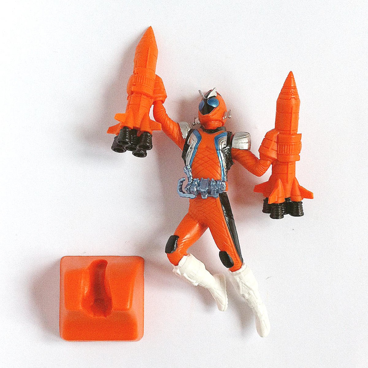 Kamen Rider Fourze Rocket States from HG Kamen Rider Fourze by Bandai