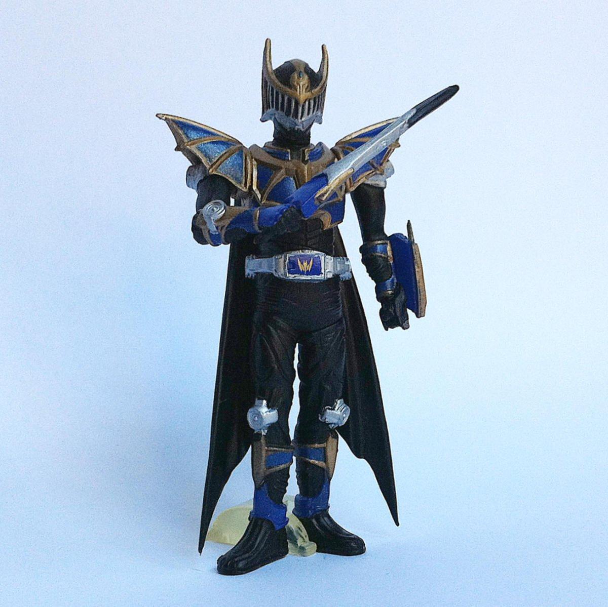 Kamen Rider Knight Survive from Kamen Rider Action Pose by Bandai