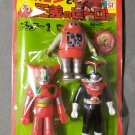 Robocon and Yoshimasa Heroes Getter 1 Kamen Rider Stronger Vinyl Figure Set Popy