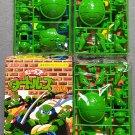 TMNT Mutations Mutant Turtles Gum Kabaya 1995 Lot of 3