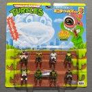 TMNT Mini Mutants Leonardo Mini Turtles Set 3 Takara