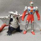 Gridman Superhuman Samurai Syber Squad Lot of 4 Vinyl Figures Kabaya