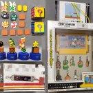 Super Mario Bros Magnet Figures Donkey Kong Nintendo Dotgraphics Lot Banpresto Unifive
