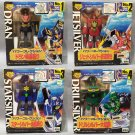 The Brave of Gold Goldran Power Collection Set of 4 Takara
