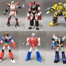 Robo Museum Real Figure Collection Part 5 SR Series Gachapon Figures Complete Set Yujin