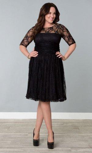women sexy slim shift long sleeve Plus size Lace dress XL 2X 3XL 4XL