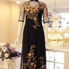 customized  vietnamese wedding dress ao dai  vietnam traditional  All SIZE  lady