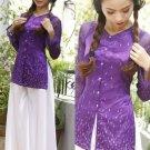 Vietnam Traditional dresses ao ba ba , ao dai quy ba aodai  long dress viet nam