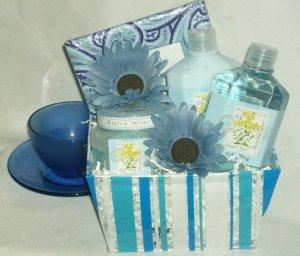 Dreaming of Blue Gift Basket