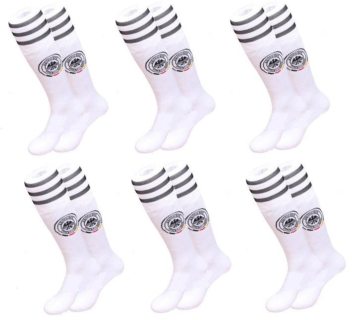 Germany socks 6 pairs for kids (white color)