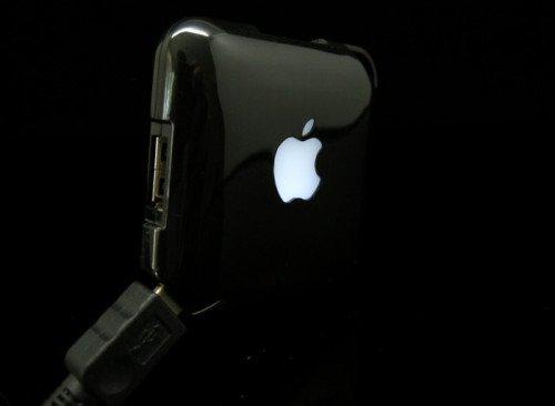 iHub - Black color USB hub for Apple lovers